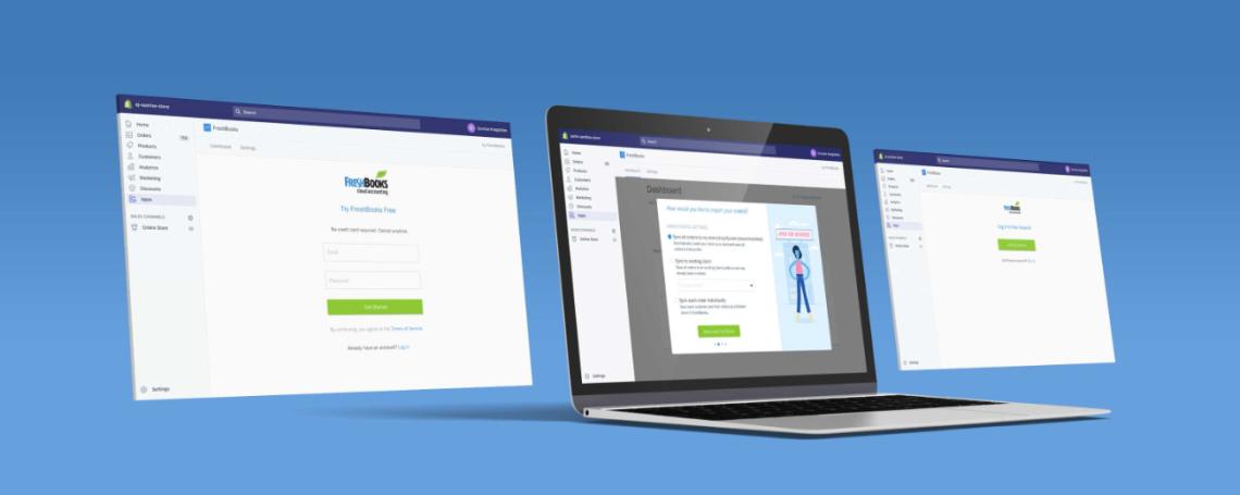 freshbooks casestudy shopify app
