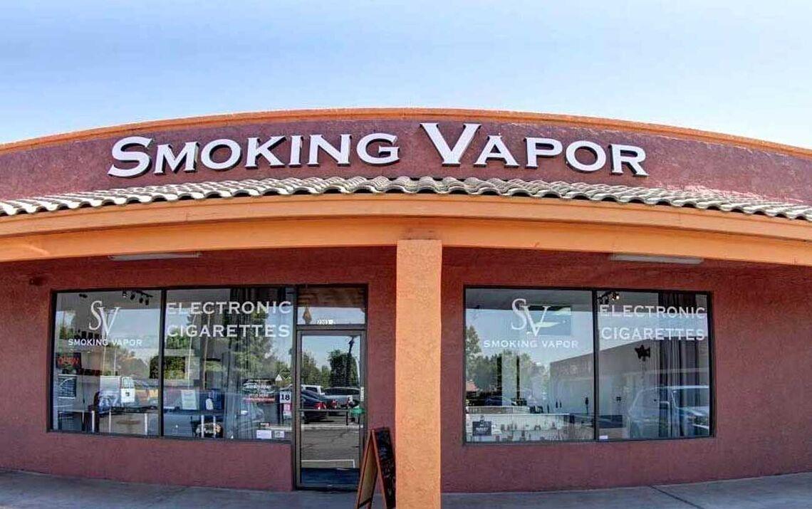 smoking vapor header
